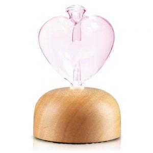 心願精油擴香儀-透明粉色
