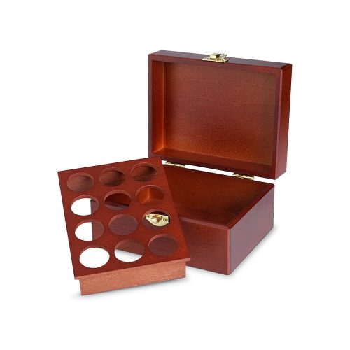 十二格精油木盒(胡桃)