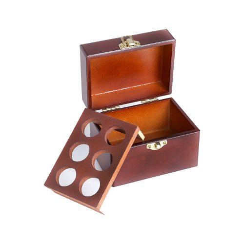 六格精油木盒(胡桃)